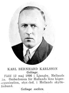 """Karl Bernhard Karlsson """"KB"""""""