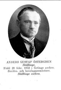 Anders Gustaf Östergren