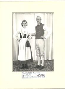 Inga o Bertil Oscarsson 10-1952