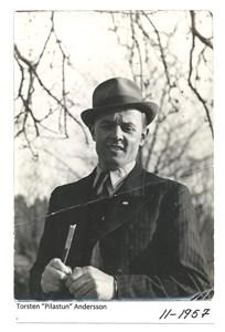 """Torsten """"Pilastun"""" Andersson 11-1957"""