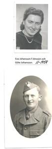 Eva Johansson och Göte Johansson 11-1958