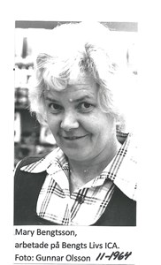 Mary Bengtsson 11-1964