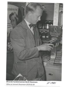Bertil Oscarsson 11-1981