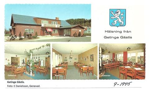 Getinge Gästis (Motellet) . 9-1945