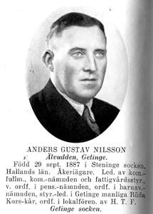 ANDERS Gustav Nilsson