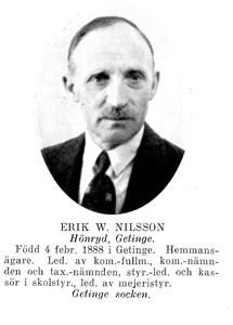 Erik W Nilsson