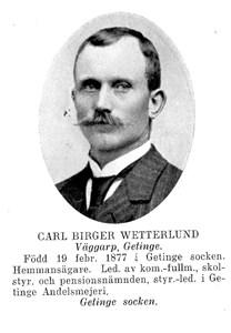 Carl Birger Wetterlund