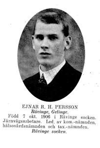 EJNAR Rutger Holmfrid Persson
