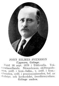 John HILMER Svensson