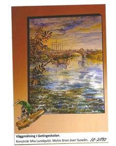 Väggmålning i Getingeskolan 10-2090