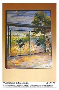 Väggmålning i Getingeskolan 10-2092