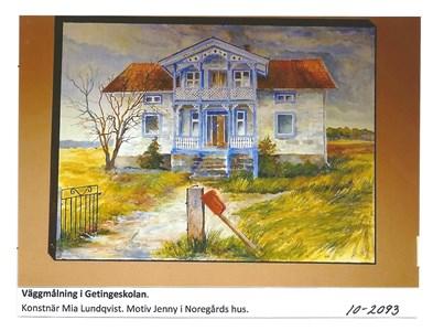 Väggmålning i Getingeskolan 10-2093