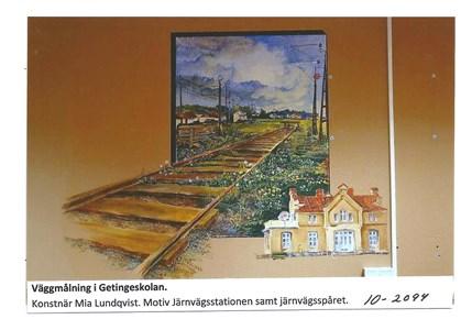 Väggmålning i Getingeskolan 10-2094