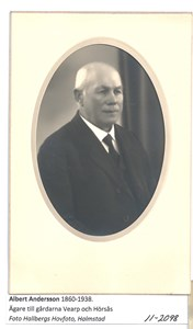 Albert Andersson 1860-1938  11-2098