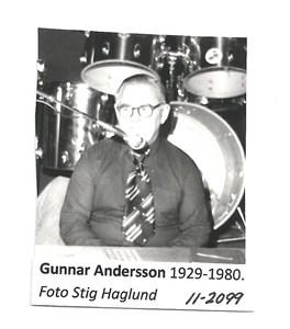 Gunnar Andersson 1929-1980 11-2099