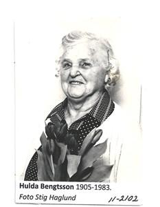 Hulda Bengtsson 11-2102
