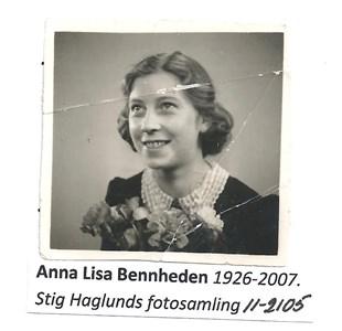 Anna-Lisa Bennheden 11-2105