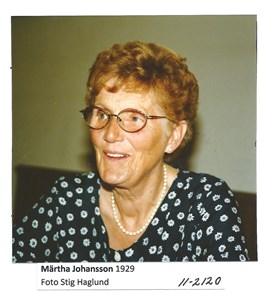Märtha Johansson 11-2120