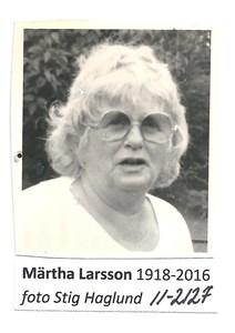 Märtha Larsson 11-2127