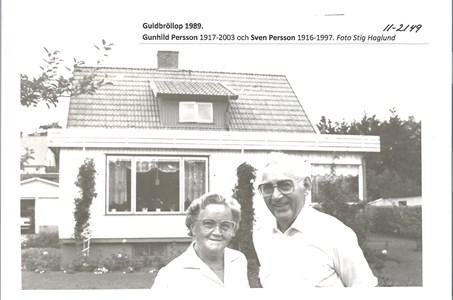 Gunhild och Sven Persson guldbröllop 1989 11-2149