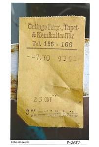 Gammal papperspåse 9-2083