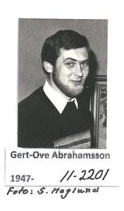Gert-Ove Abrahamsson 11-2201