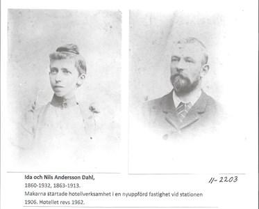 Ida och Nils Andersson Dahl  11-2203