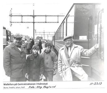 Wallefors på Centralstationen i Halmstad 11-2213