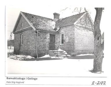 Banvaktstuga i Getinge 2-2182