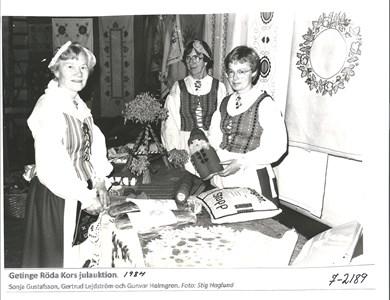 Getinge Röda Kors Julaktion  1984 7-2189