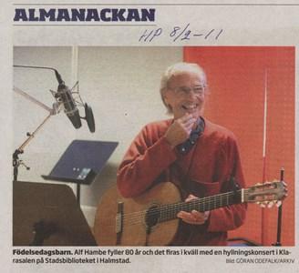 110208 Alf Hambe 80 år