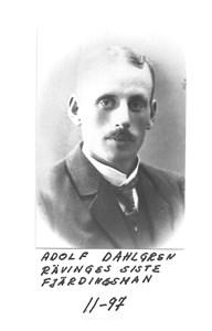 Adolf Dahlgren-Rävinges siste fjärdingsman
