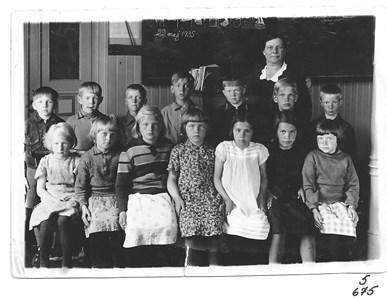 Skolklass 1935. 5-675