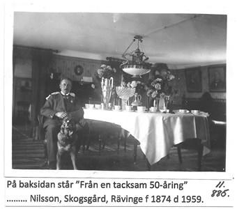 Johan Birger Nilsson, Skogsgård 11-885