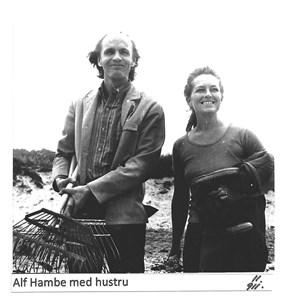 Alf Hambe med hustru Ulla 11-911