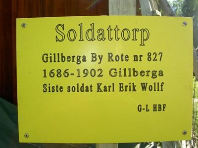 Soldattorp 827 Tavla