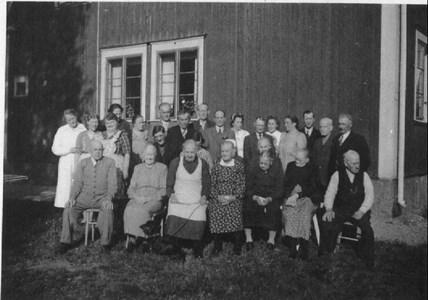 Ålderdomshemmet gruppfoto