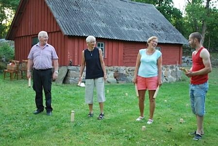Gödestad, Nils Pers gård,kubbspel