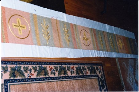 Gödestads kyrka, Invigning av vävnad till koret