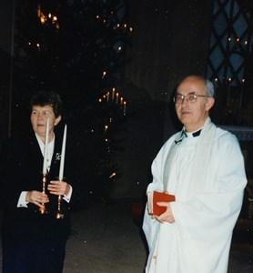 Gödestads kyrka, Ella Johansson avtackas