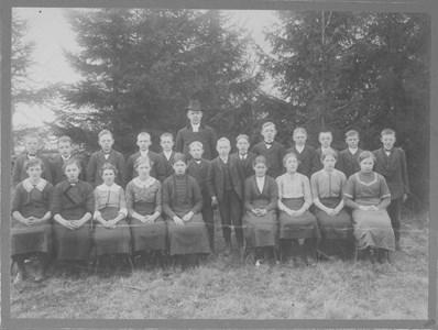 Gödestads kyrka, Konfirmation, Hunnestad-Gödestad 1913