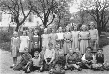 1953 Gödestads skola klass 3-4