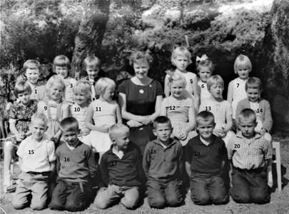 1961-1962 Gödestads skola våren klass 1-2