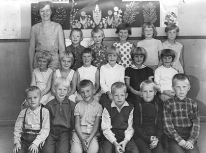 1965 Gödestads skola klass 1-2