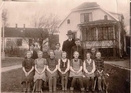 1940 Gödestads skola omkring
