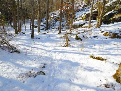 Snölandskap vid Lilla Verleberg