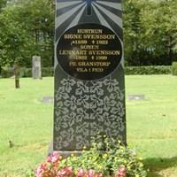 Gravvård på Hånger kyrkogård