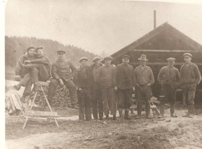 Kvarnvik Sågen 1935-40