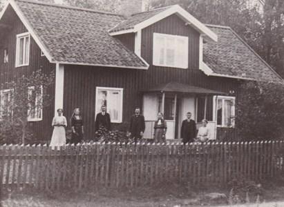 Arbetarbostaden i Hägerstad c.a 1915