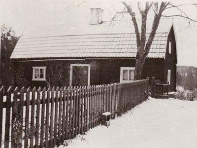 Vinter bild på Domarvik